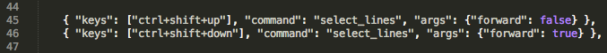 Sublime Text 2 Vertical Selection