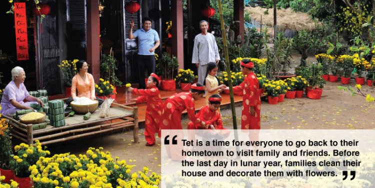 the tet holiday In the days leading up to the most important holiday of the year, known as tet or the vietnamese new year, vietnam undergoes a remarkable transformation shops.