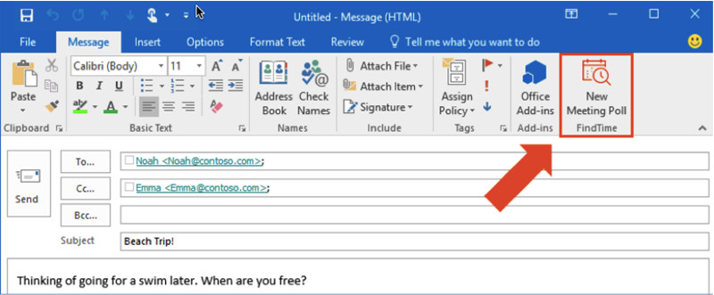 how to go online in outlook